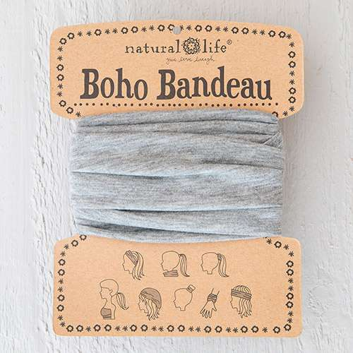 Natural Life Heather Grey Boho Bandeau