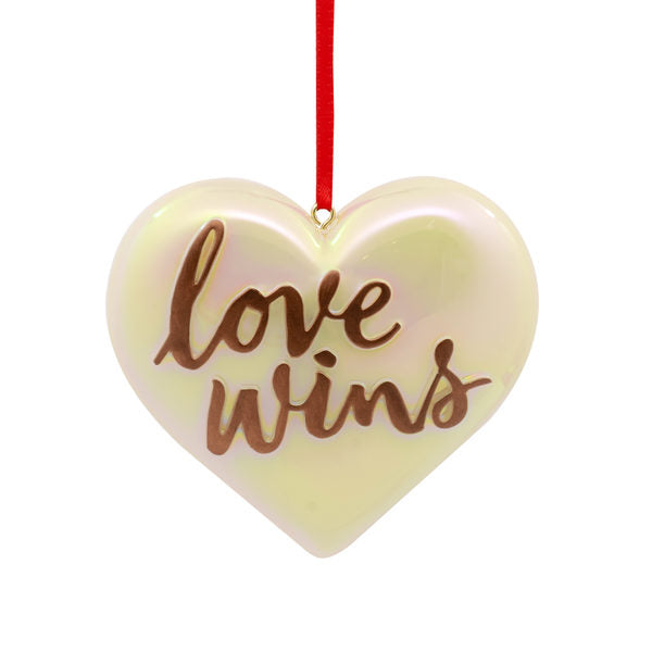 Hallmark Love Wins Ornament
