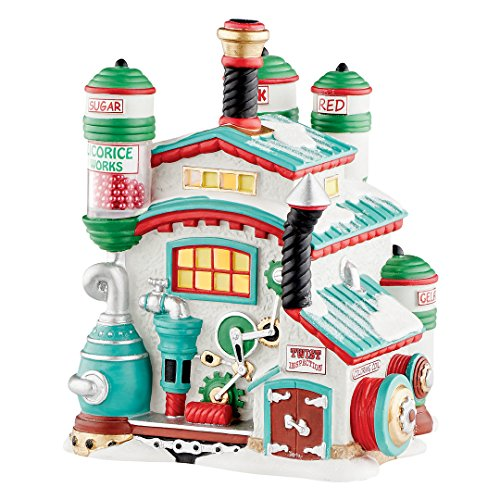 Department 56 4050964 North Pole Series North Pole Licorice Works