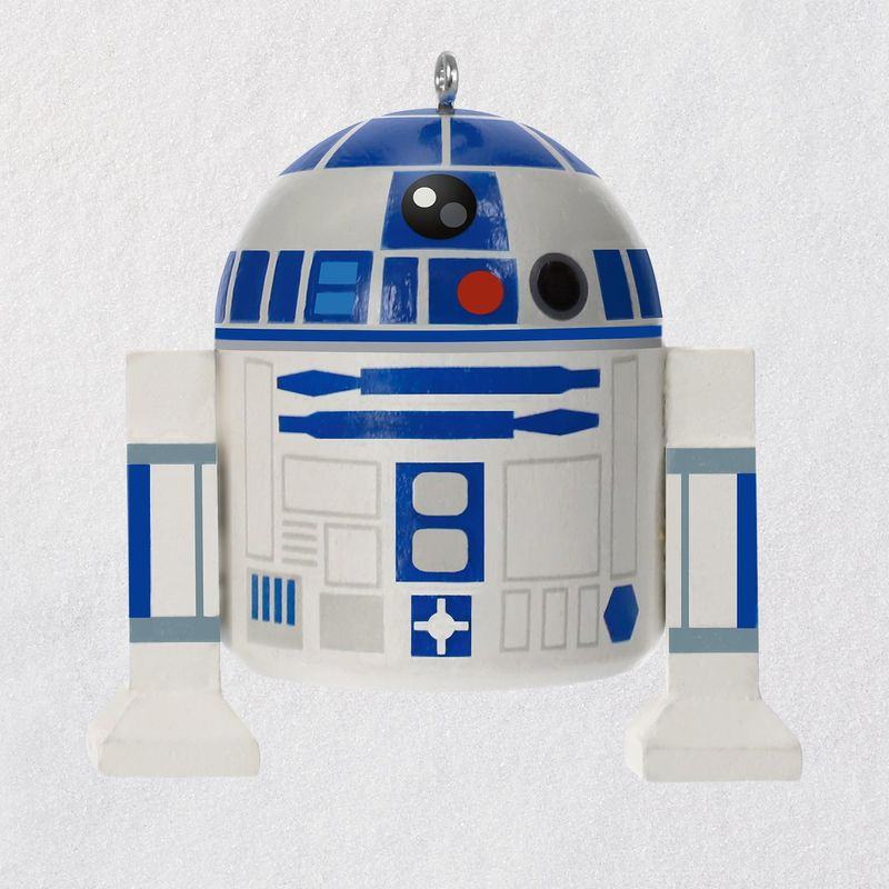Hallmark Keepsake 2018 Star Wars™ R2-D2™ Wood Ornament