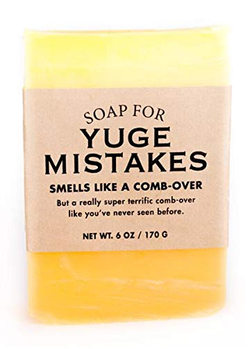 Whiskey River Soap Co. - Soap for Yuge Mistakes, 6 oz, Cubans & Cognac Scented