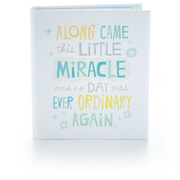 Hallmark Little Miracle Baby Boy Memory Book
