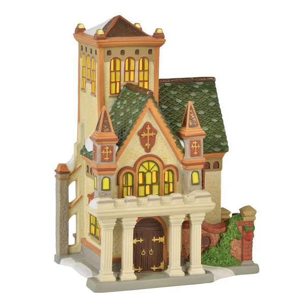 Department 56 Dickens Village Duniway Abbey