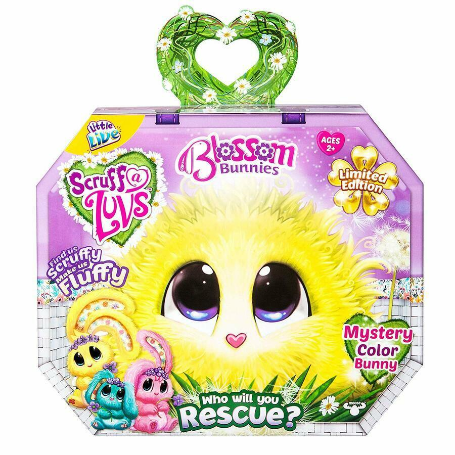 Little Live Scruff-A-Luvs Mystery Color Blossom Bunny, Limited Edition