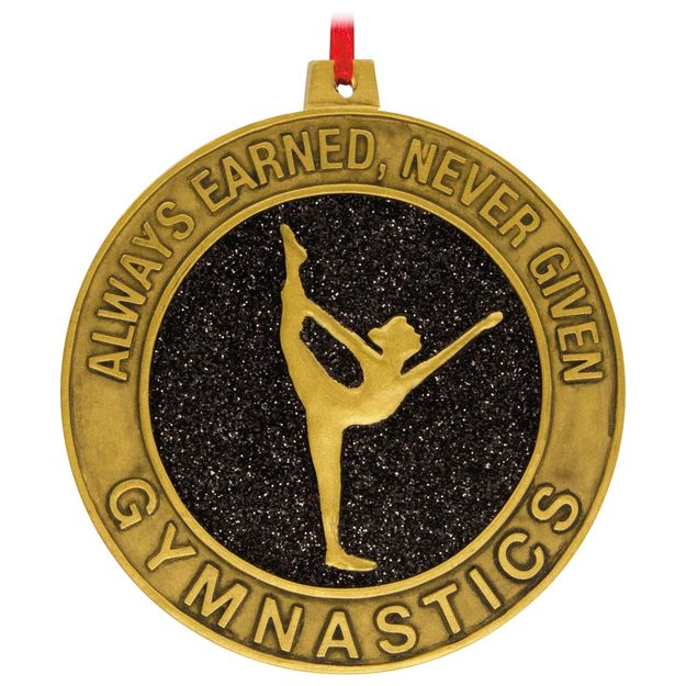 Gymnastics Hallmark Ornament