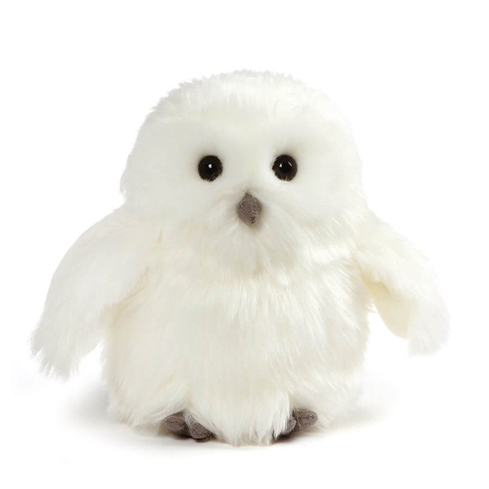GUND Ophelia Snowy Owl Stuffed Animal Plush, White, 7""