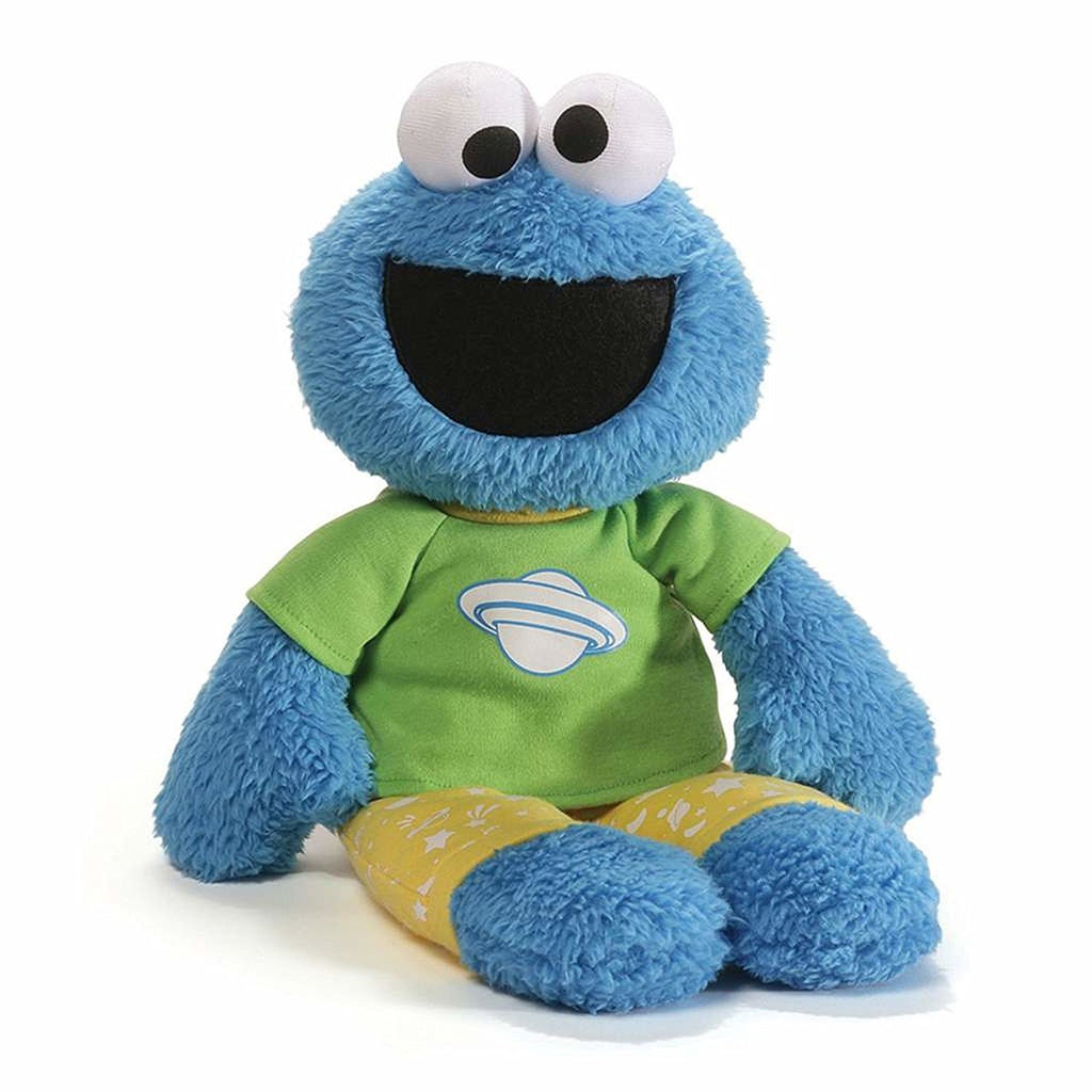 GUND Sesame Street Cookie Monster Pajama Pal Stuffed Toy Plush, 16""