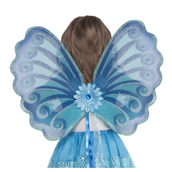 Grasslands Road Aqua Fairy Wings - Child