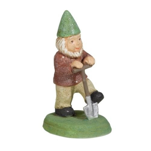 Grasslands Road - In The Garden - Farmer's Market Gnome Statue - 464311 (Shovel)