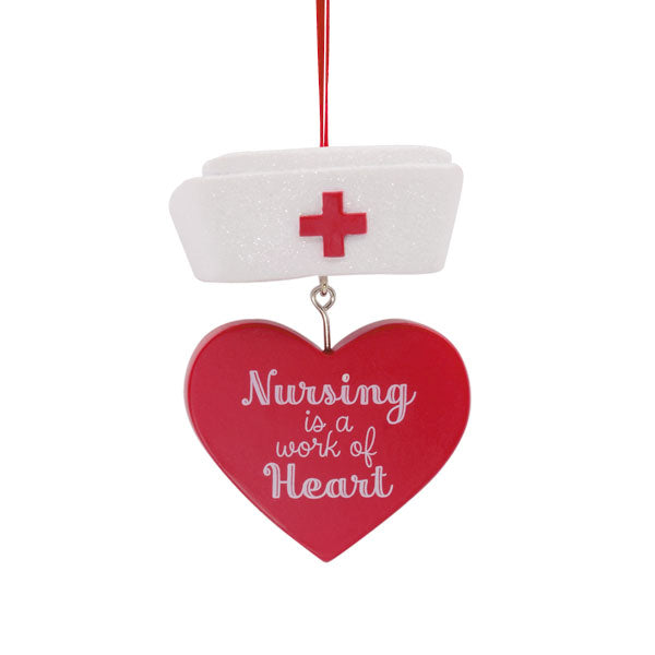 Hallmark Nurse Hat Ornament