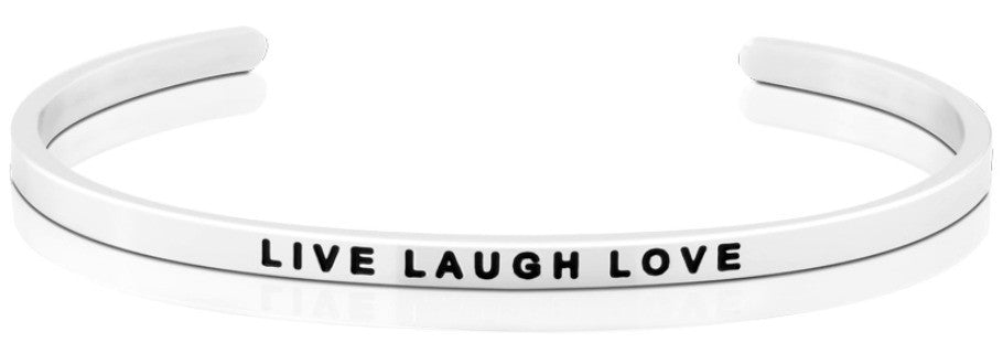 MantraBand Live Laugh Love