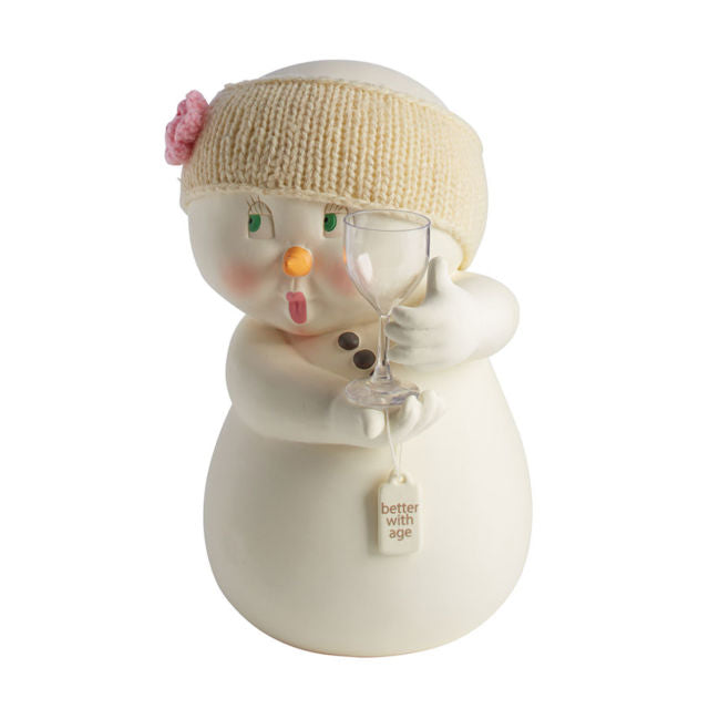 Department 56 Snowpinions Better with Age Figure Figurine