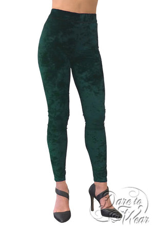 Luxury Leggings in Evergreen Crush