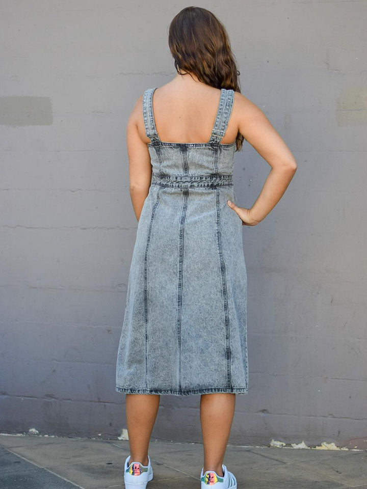Carolina Dress | Denim