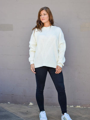 Lou Knit | White
