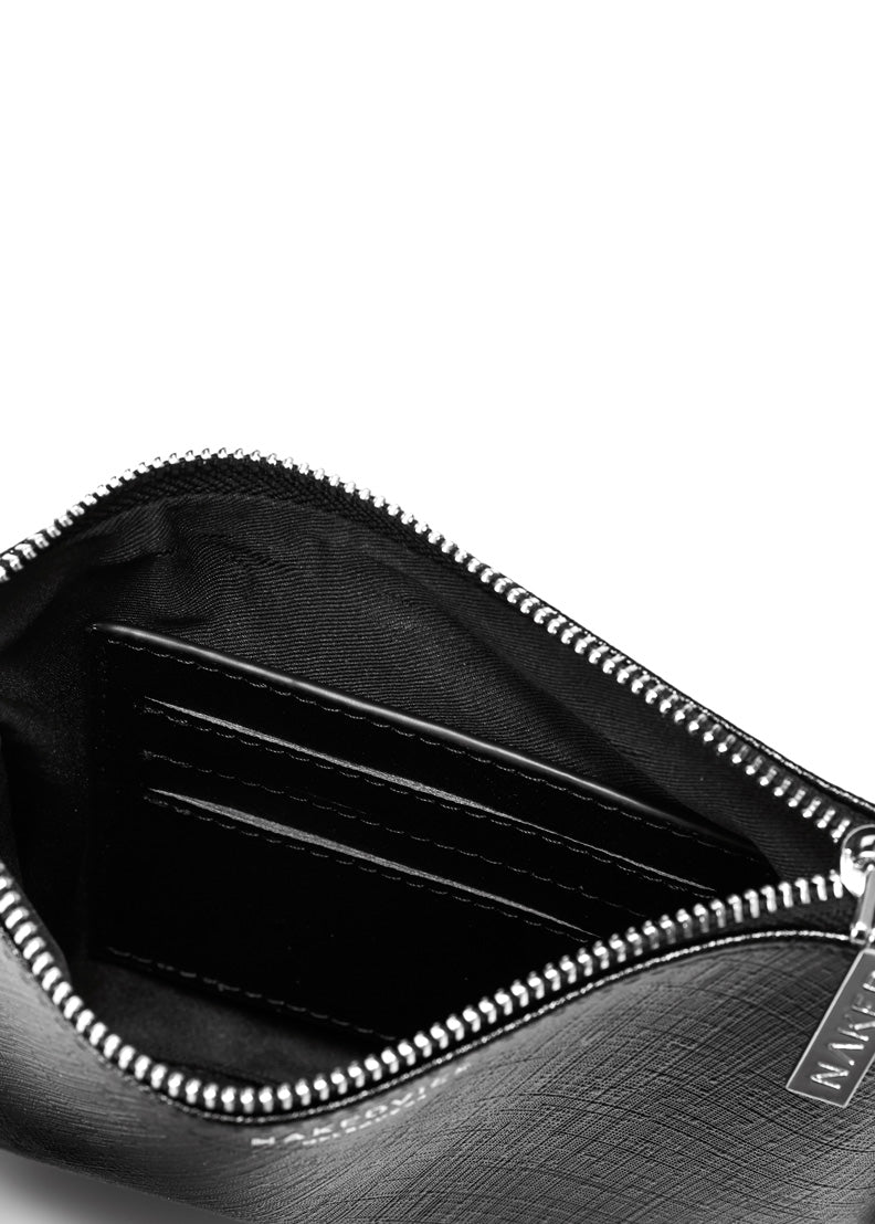 The Base Purse | Black Grain