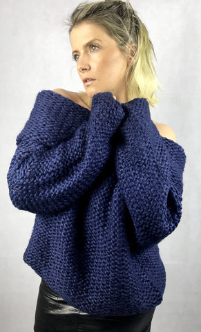 Francesca Knit | Navy