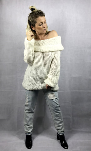 Francesca Knit | White