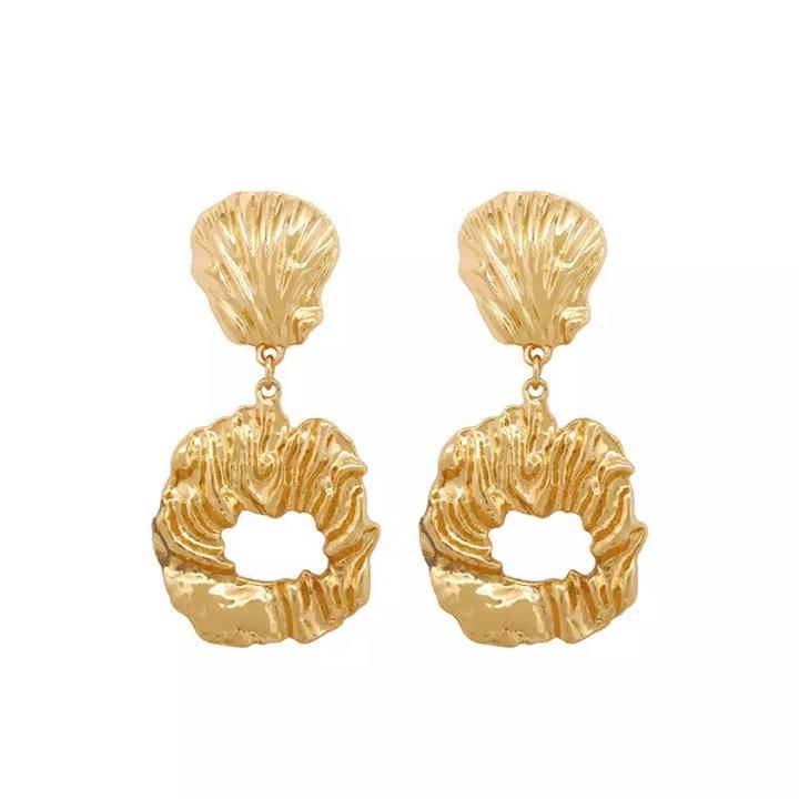 Delmare Earrings | Gold