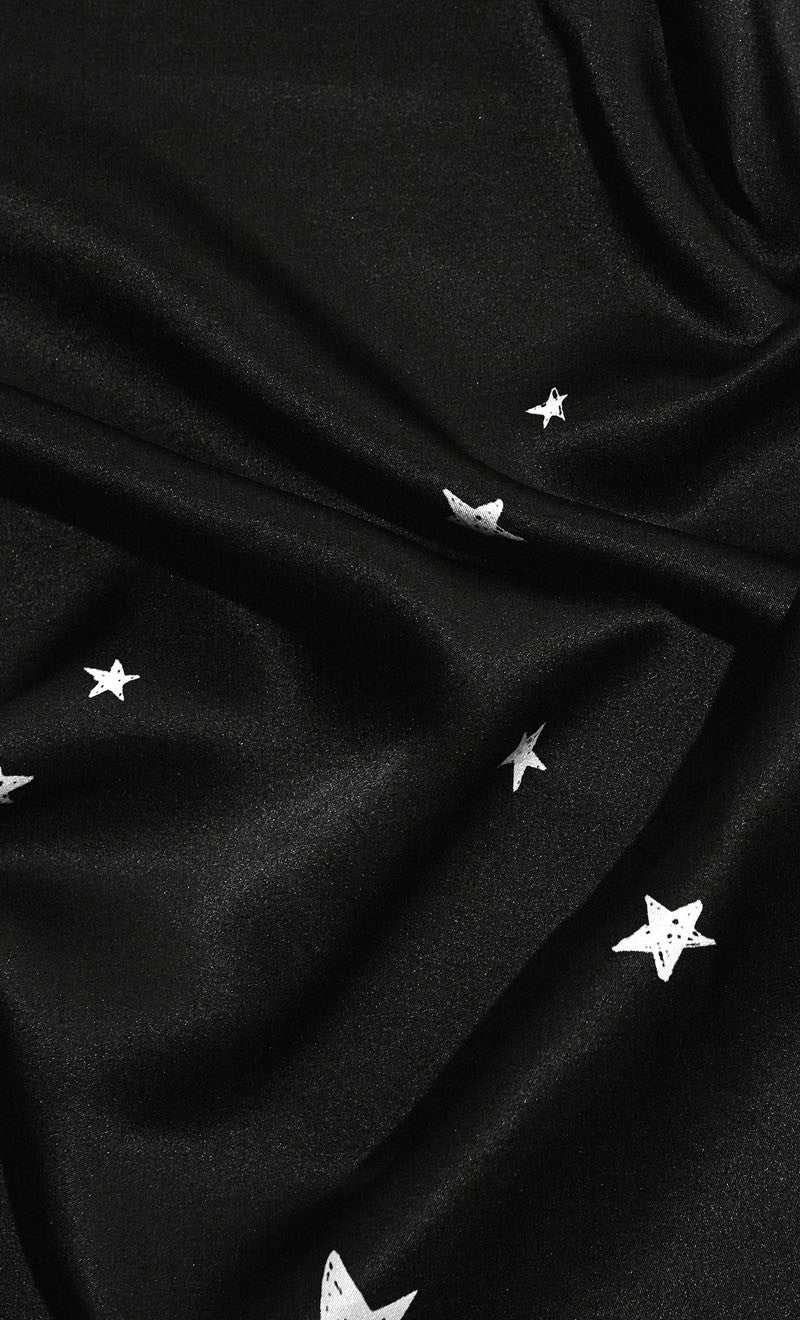 The Star Crossed Scarf | Black
