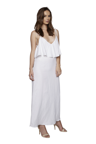 The Riviera Dress | White