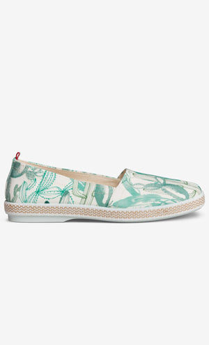Cactus Slip-On Espadrille by Lara Costafreda