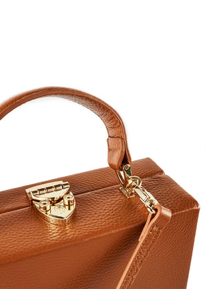 The Frenchie Leather Bag | Tan