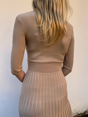Carrie Dress | Champagne