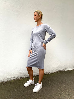 Amelie Dress | Grey