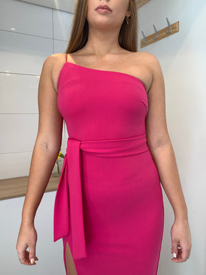 Carmel Dress | Fushia