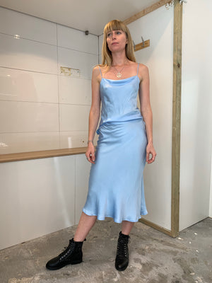 Sasha Dress | Baby Blue