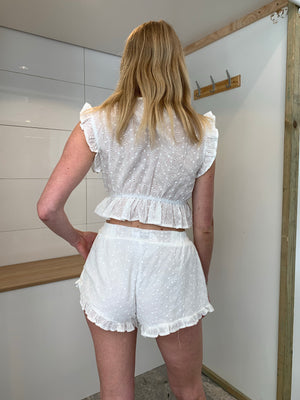 Honey Shorts |  White