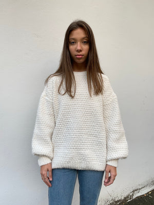 Suzie Knit Jumper | Cream