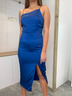 Jade Dress | Royal Blue