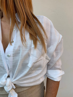 Cath Shirt | White