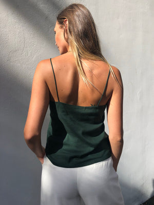 Daria Top | Emerald