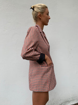 Penelope Plaid Jacket