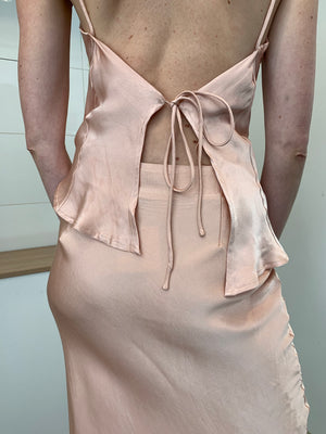 Sasha Dress | Peach