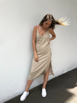 Gemma Dress | Beige