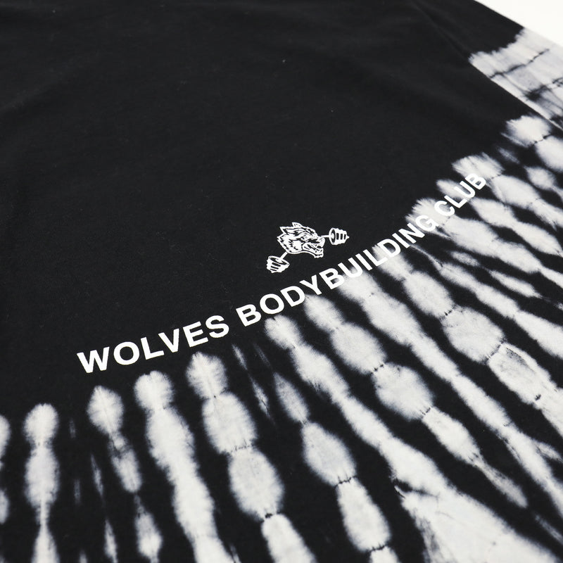 Wolves Fam (LS) Tee in Bone Dry Curve Wash