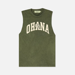 Family Muscle Tee in Vintage Olive