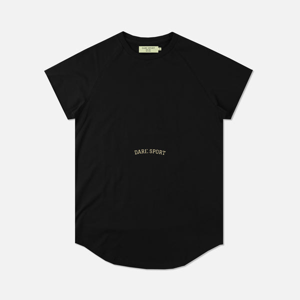 Bodybuilding Saved My Life V2 Cap Sleeve (Drop) Tee in Black
