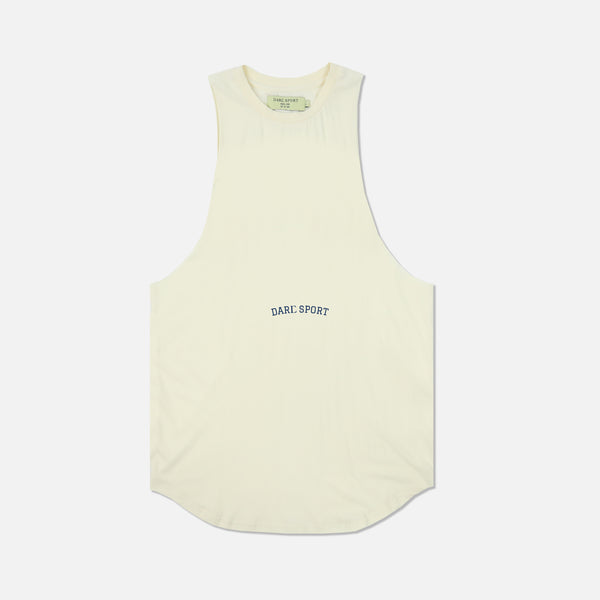 Bodybuilding Saved My Life V2 (Drop) Muscle Tee in Cream