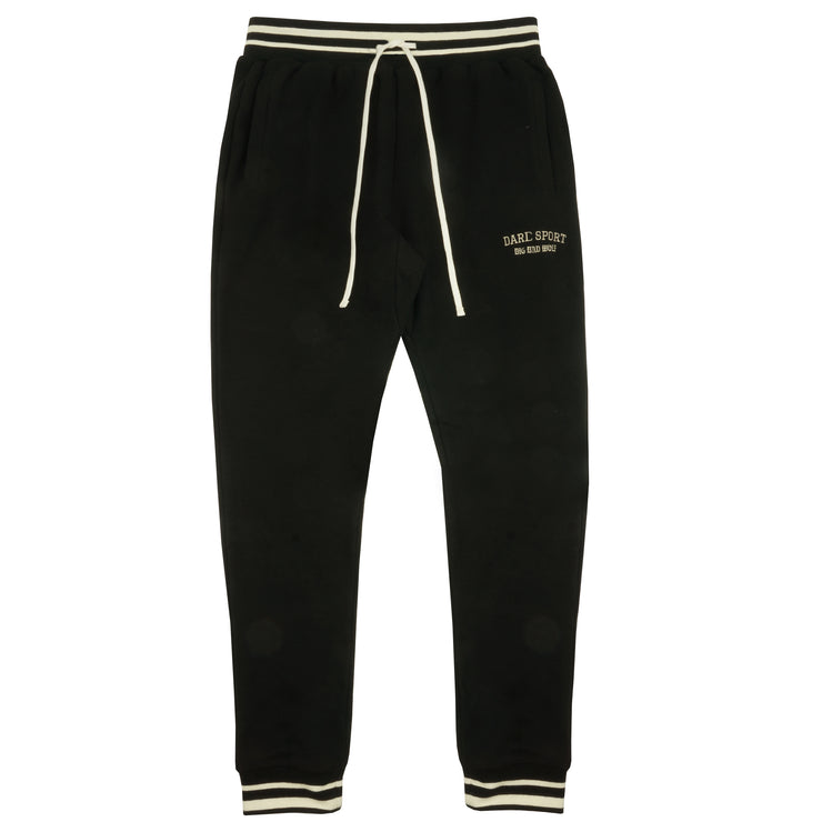 Big Bad Wolf Joggers in Black