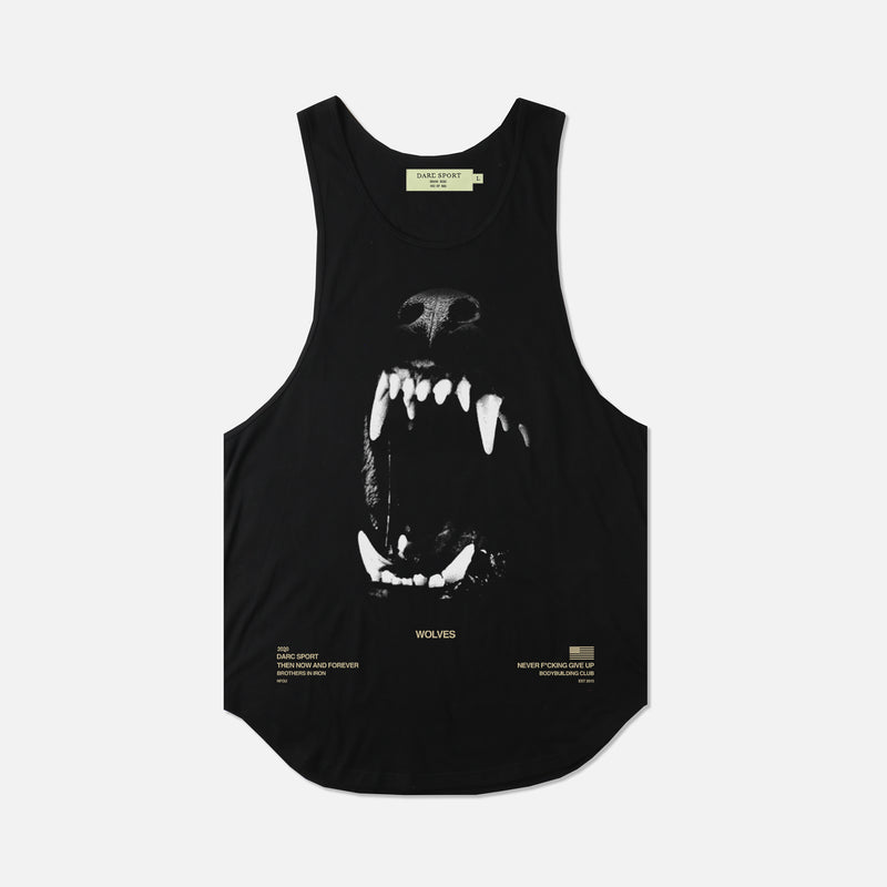 Blood Thirsty (Drop) Tank in Black