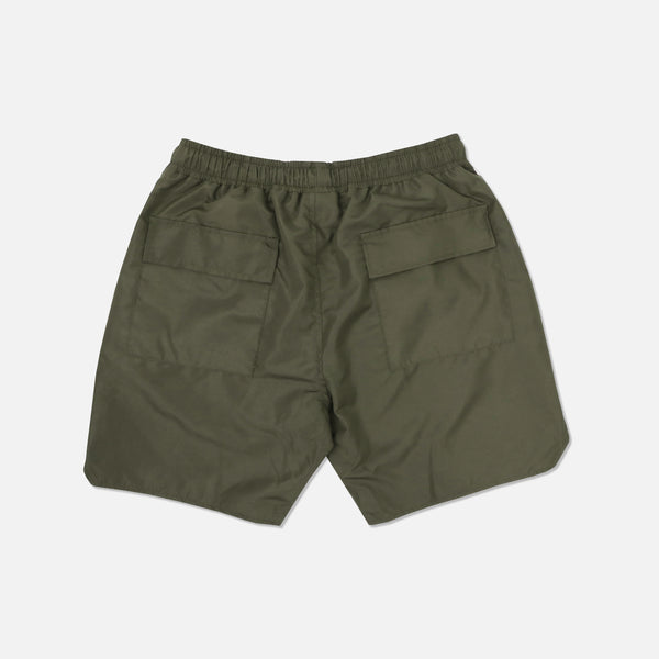 Fasted Track Shorts in Olive/Tan