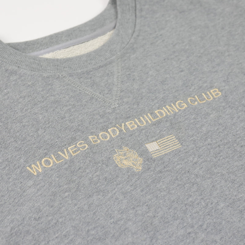 Wolves United Cap Sleeve Crewneck Sweater in Athletic