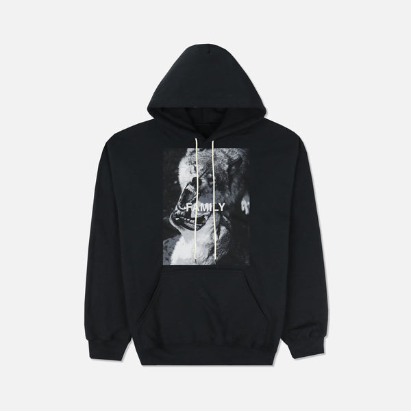Wolves Fam Classic Hoodie in Black