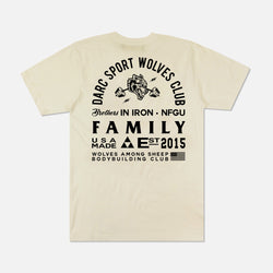 Ohana In Iron Classic Tee in Cream