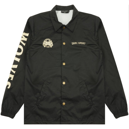 Wolves Coaches Jacket in Black